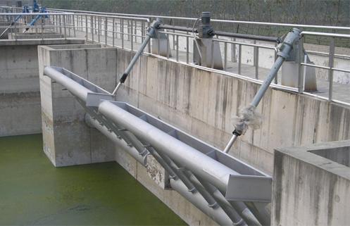 结构形式:                    xb旋转式滗水器主要由电控